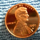 2002-S Lincoln Memorial Cents, Choice Proof.