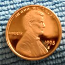 1998-S Lincoln Memorial Cents, Choice Proof