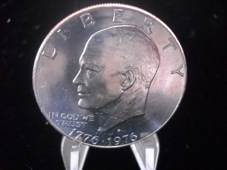 1976-D Eisenhower Brilliant UN-Circualted Dollar.