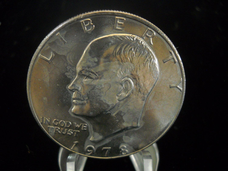 1978-P Eisenhower Brilliant UN-Circualted Dollar.
