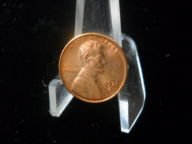 1971-S Lincoln Memorial Cents. Choice UN-Circulated
