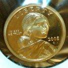 2005-S Sacagawea Dollar.  Proof Coin.