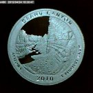 2010-S Washington Quarter, National Parks. Grand Canyon Silver Proof.