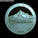 2010-S Washington Quarter, National Parks. Mount Hood Silver Proof.
