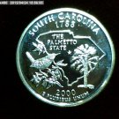 "2000-S Washington Qaurter. SILVER PROOF. ""South Carolina"""