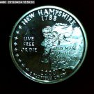"2000-S Washington Qaurter. SILVER PROOF. ""New Hampshire"""