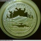 2013-S Washington Silver Proof Quarter. National Park *Great Basin*