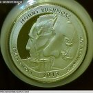 2013-S Washington Silver Proof Quarter. National Park *Fort Mchenry*