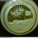 2013-S Washington Silver Proof Quarter. National Park *Perry Victory*