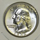 1956-D Washington Quarter. Choice Mint Luster. Brilliant UN-Circulated