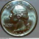"1973 Washington Quarter, 3 Coin Collection. ""P"", ""D"" and ""S"" Mint Mark Coins.UNC"