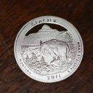 2011-S Washington Proof Quarter, National Parks.GLACIER. Montana.