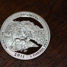 2011-S Washington Proof Quarter, National Parks.OLYMPIC. Washington.