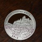 2012-S Washington Proof Quarter, National Parks.  ACADIA,  Maine.
