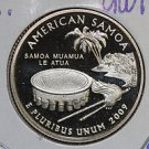 2009 Washington Quarter, U.S. Territories, American Samoa. 3 Coin Set., P/D/S.