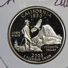 2005 Washington State Quarter, 3 Coin Set, P/D/S. California ,  B.U./Proof.