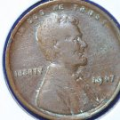 1917 Lincoln Wheat Cents.  Good Circulated Coin  #4853