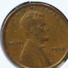 1918 Lincoln Wheat Cents.  Good Circulated Coin.  #4859