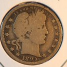 1895-O 25C Barber Quarter. Very Good Circulated Coin.  BX-5306