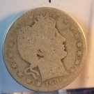 1909-D Barber Quarter.  Well Circulated Condition.  BX-5530