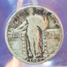 1927 Standing Liberty Quarter.  Average Circualted Coins.  BX #5884