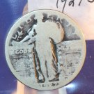 "1927-S Standing Liberty Quarter.  ""Lower Mintage""  Circualted Condition.  BX# 5930"