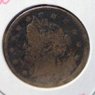 "1886 Liberty Nickel. ""KEY DATE/Lower Mintage"" Circulated Conditon With Toning. CS#7753"