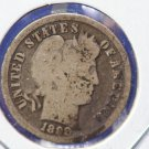 1898 Barber Dime. Well Circulated Condition. Affordable Coins. CS#8438/40