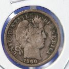 1900-O Barber Dime. Nice Problem Free Coin. CS#8452