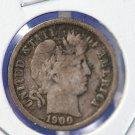 1900-O Barber Dime. Nice Problem Free Coin. CS#8452