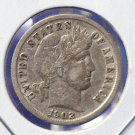 1902 Barber Dime. Choice Problem Free Extra Fine - Circulated Coin. CS#8470
