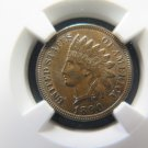 1890 1C Indian Penny. Choice Mint State Condition.  NGC MS63.