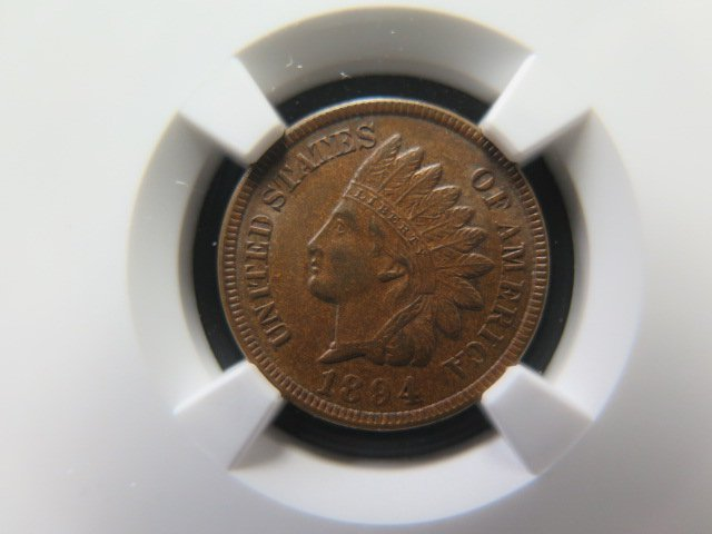 1894 1C Indian Head Penny. Choice Mint State. NGC Graded and Certified.