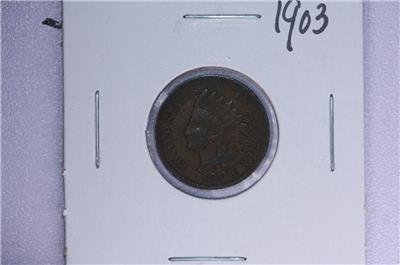 1903 1C. Indian Head Penny.  Good Circulated Condition. Coin Store Sale #1736