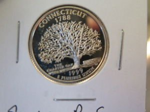 1999-S 25C Washington Silver Quarter - New Jersey Silver Proof - Auction #0338