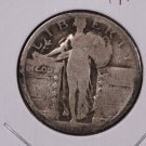 1`918-S 25C Standing Liberty Quarter. Readable Date. Good Circulated Coin #1846