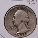 1935-S Washington Silver Quarter. Good to Very Good Coin's. SALE#1896