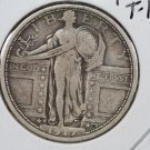1917-D Standing Liberty Quarter. Type 1. Choice Extra Fine. Sale #2402