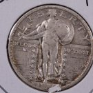 1924 25C Standing Liberty Quarter. V.F. Circulated Coin. STORE #2437