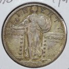 1924-D Standing Liberty Quarter. Choice Extra Fine. Store Sale #2439