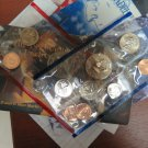 """1969 U.S. Issued Mint Set.  """"P"""" and """"D"""" Minted Coin's. 10 Coin Set."""