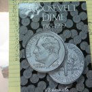 """1965 to 1999 Roosevelt Dime Set. """"P"""" and """"D"""" issue. In Folder. All UN-Circulated Coin."""