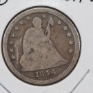 1844-O 25C Liberty Seated Quarter, Good Circulated Condition. Store Sale#2297