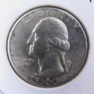 1942-D 25C Washington Silver Quarter. Gem Brilliant UN-Circulated. NICE #9508