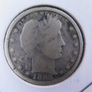 1892-S 25C Barber Silver Quarter. Good Circulated Condition. Store Sale #9418