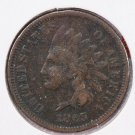 1865 1C Indian Penny. Very Good Details. Reduced For Sale. STORE #2499
