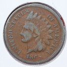 1865 1C Indian Head Cents, Very Good Circualted Coin. Store Sale 2501