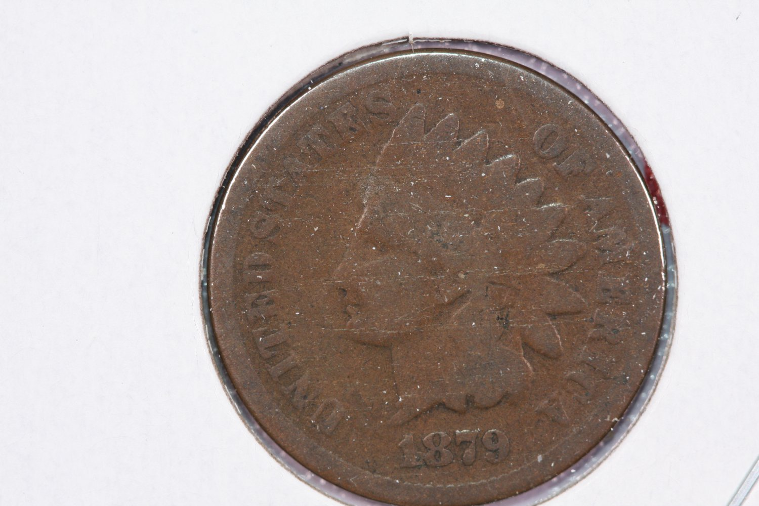 1879 1C Indian Head Cents, About Good Circulated Condition. Large SALE#2555