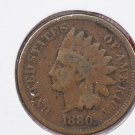 1880 1C Indian Head Cents, Good Circulated Condition. Store Sale #2559