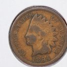 1894 1C Indian Head Cents. Good Circulated Coin. Affordable Date. Store #2613